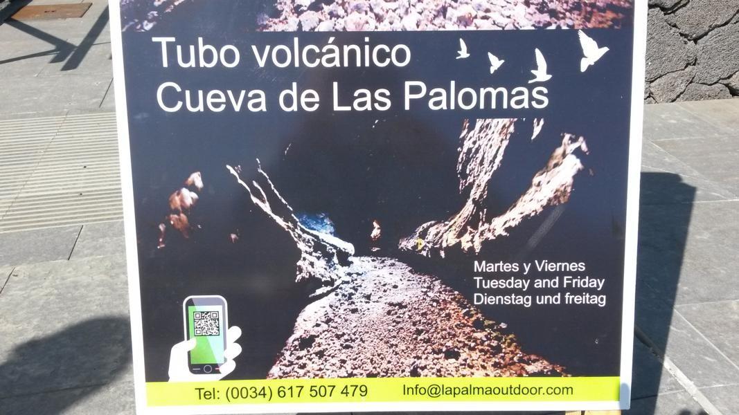 welch riesen Geschenk, die Vulkanische Röhre...