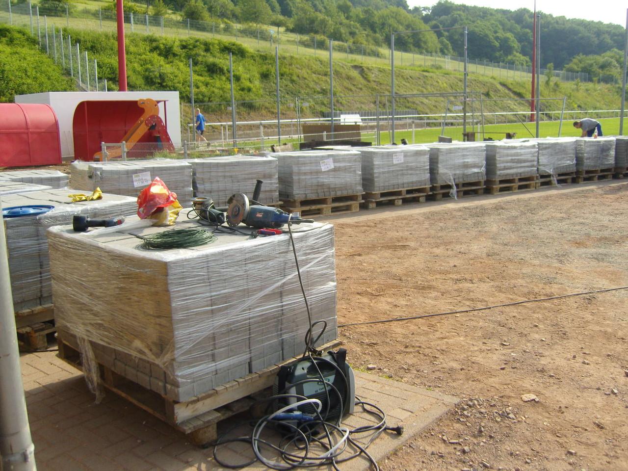 Arbeitseinsatz - 26.06.2010 - die Arbeit wartet!