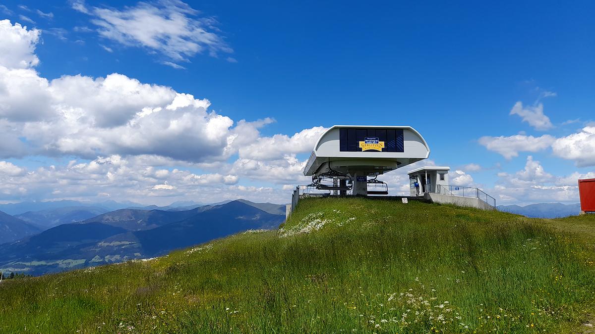 Gondel Gerlitzen Alpe