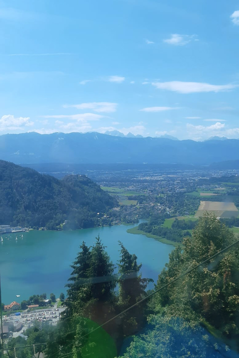 Gondel zur Gerlitzen Alpe