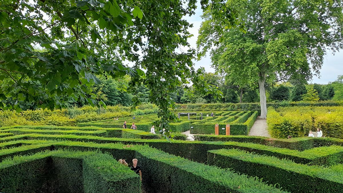 Irrgarten und Labyrinth