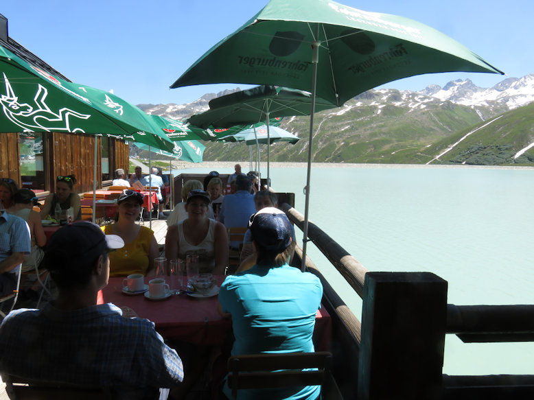 Bielerhöhe, Silvrettasee