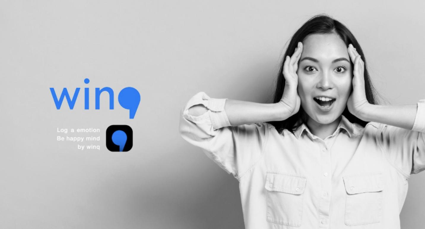 """【配信開始】自分の感情を記録する""""マインドフルネス"""" アプリ 「Winq(ウインク)」iOS無料版をリリース"""