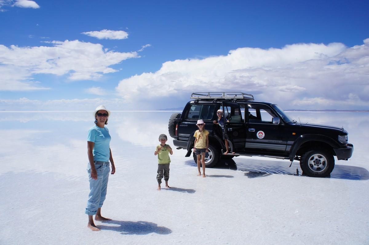 Zone humide du désert de sel
