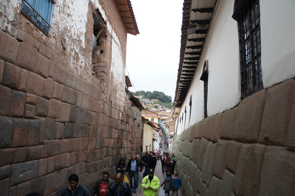 Les murs incas
