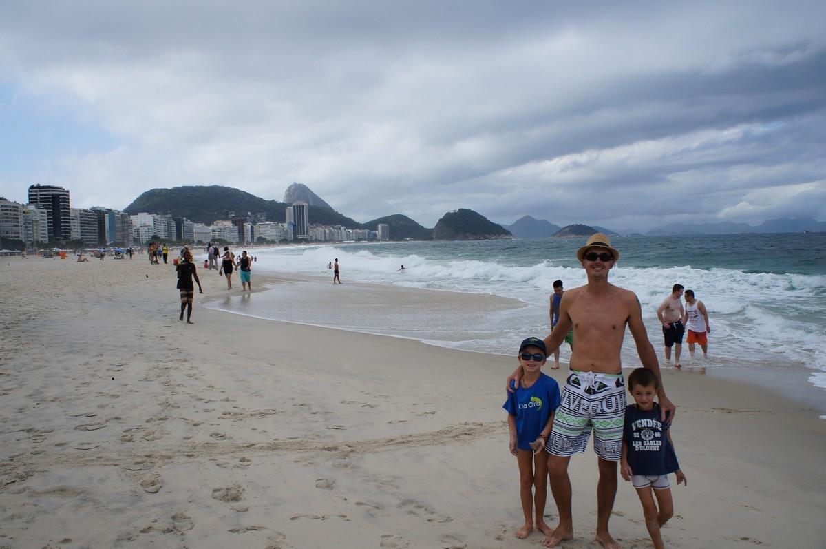 Copacabana, oui c'est joli ... Mais on préfère nos côtes bretonnes !