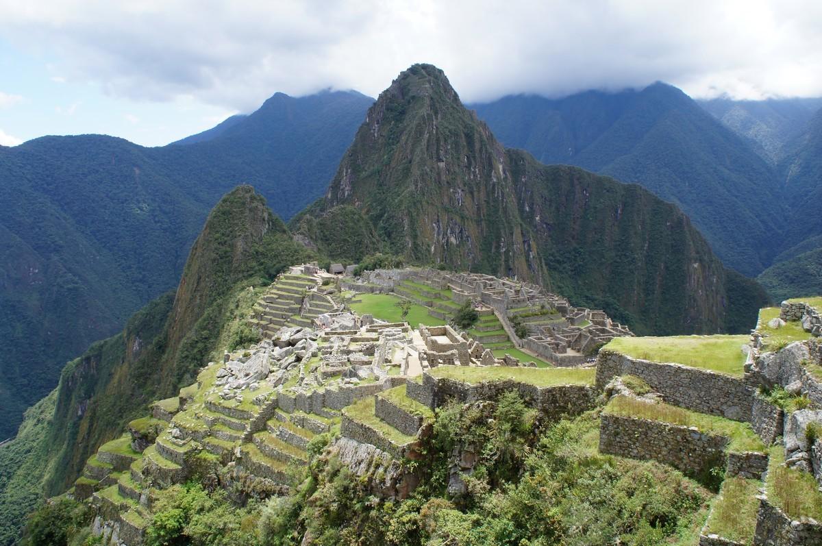 Le Machu Picchu tant attendu (le Waya Picchu au fond)