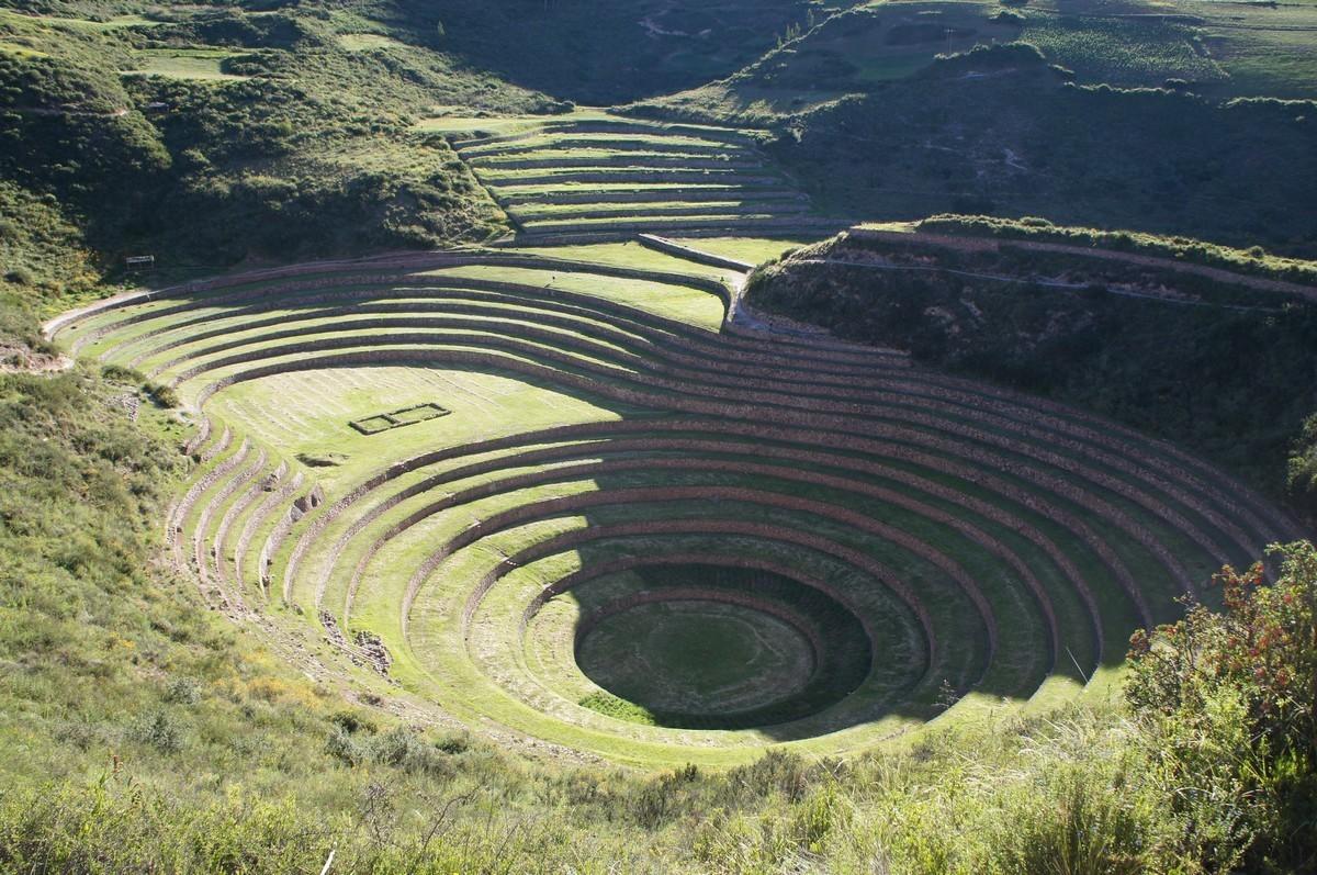 L'amphithéâtre agricole de Moray