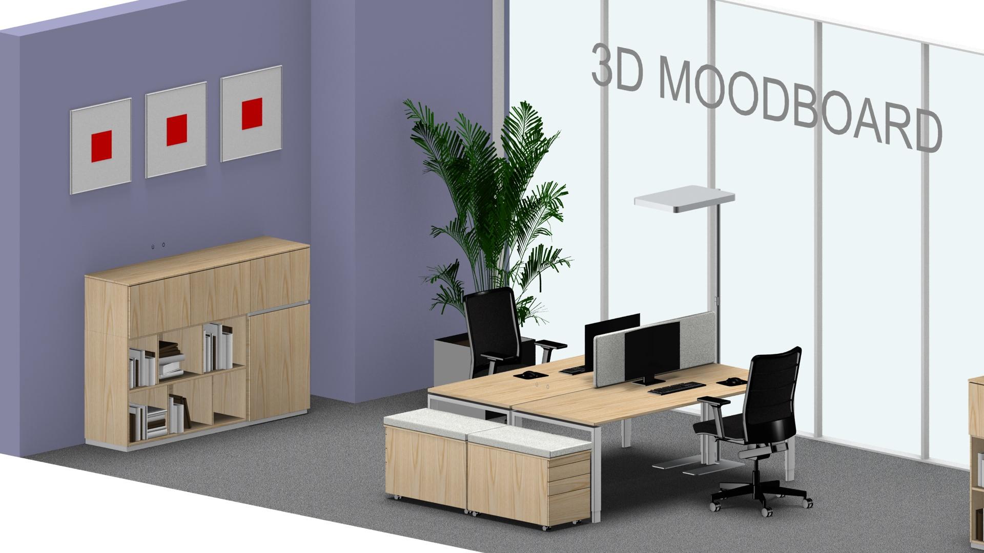 Farbe und Wirkung im Büro