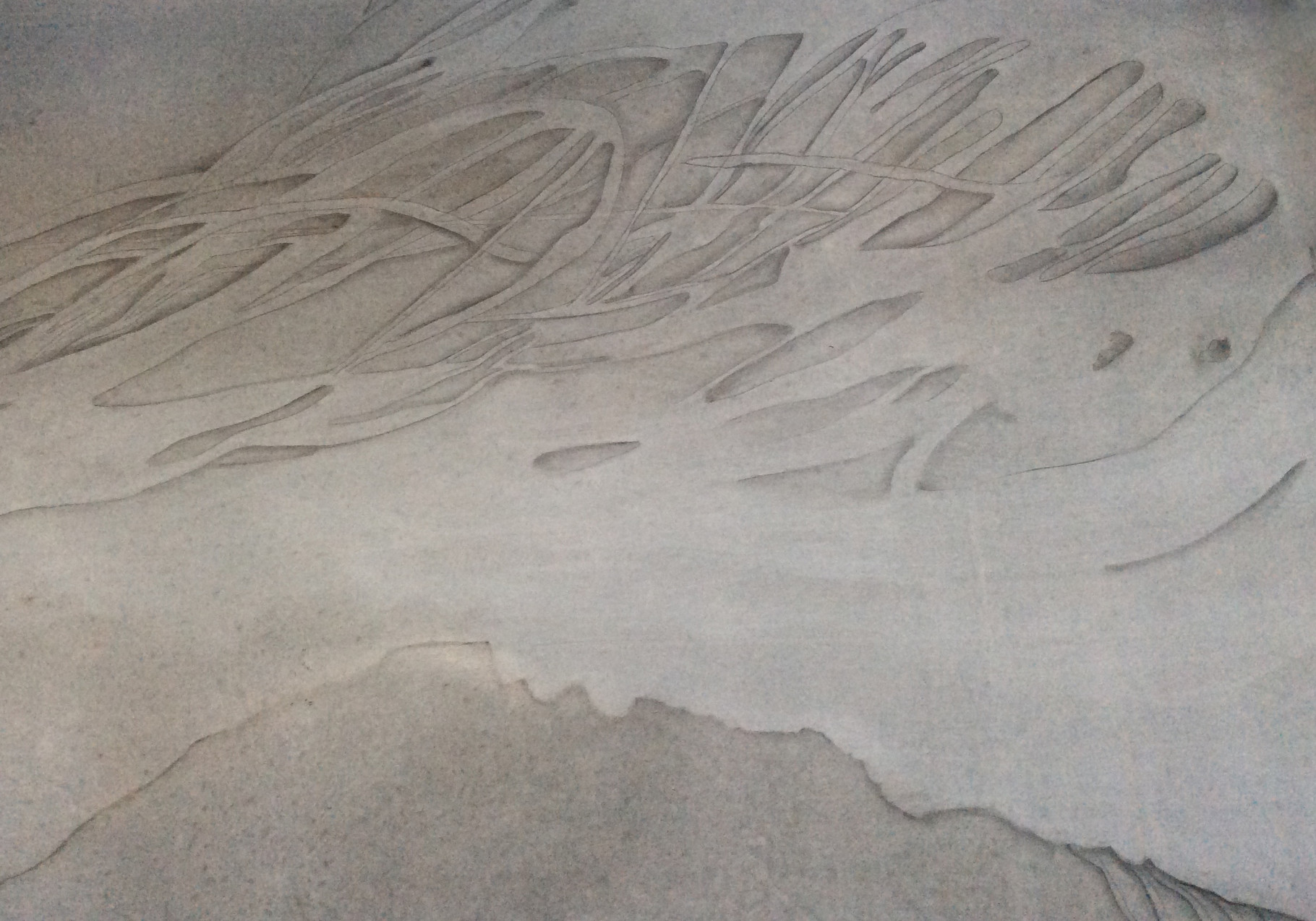 Wandmalerei im Eingangshalle