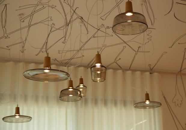 Restaurant - Deckengestaltung