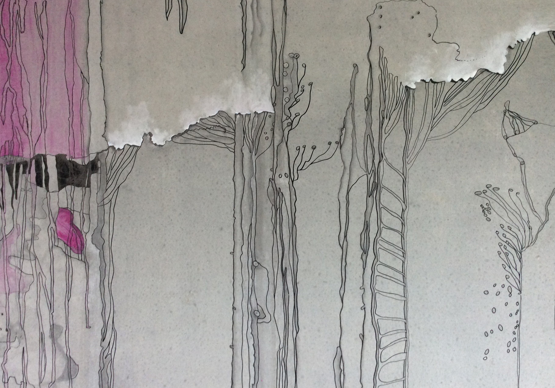 Wandmalerei im Konferenzraum