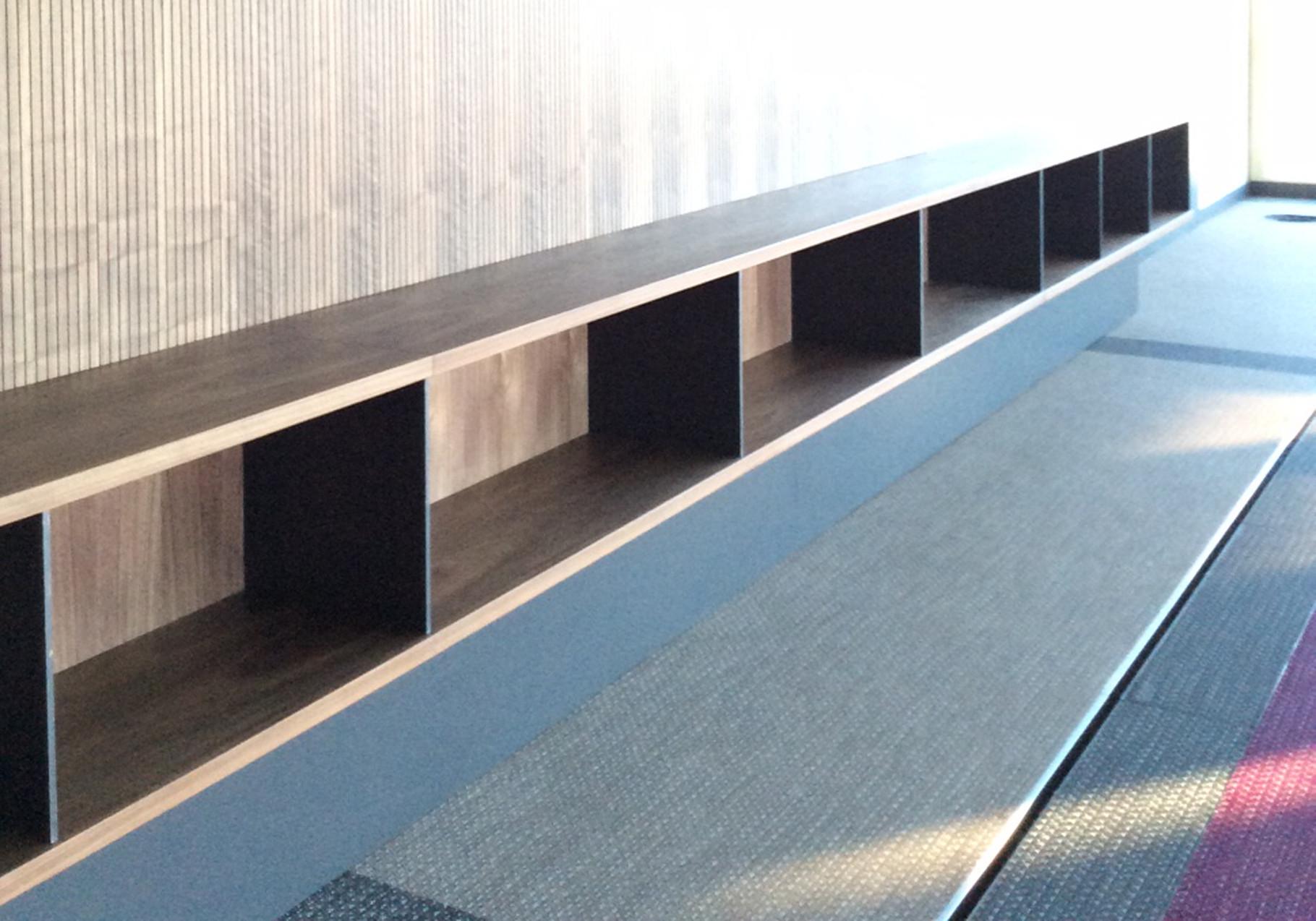 Möbeldetail Konferenzraum
