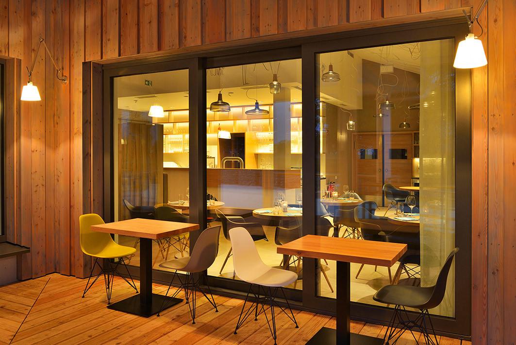 Einrichtung und Lichtplanung Restaurant