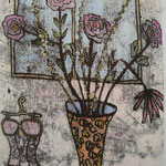 Atelier, Hand coloured lift print 1/1 sold