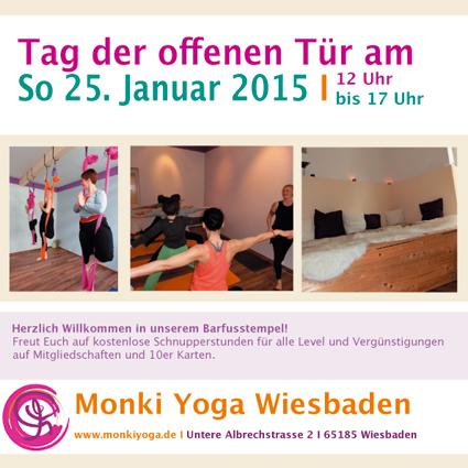 Tage der offenen tür  Tag der offenen Tür - Yoga Wiesbaden I Monki Yoga Wiesbaden