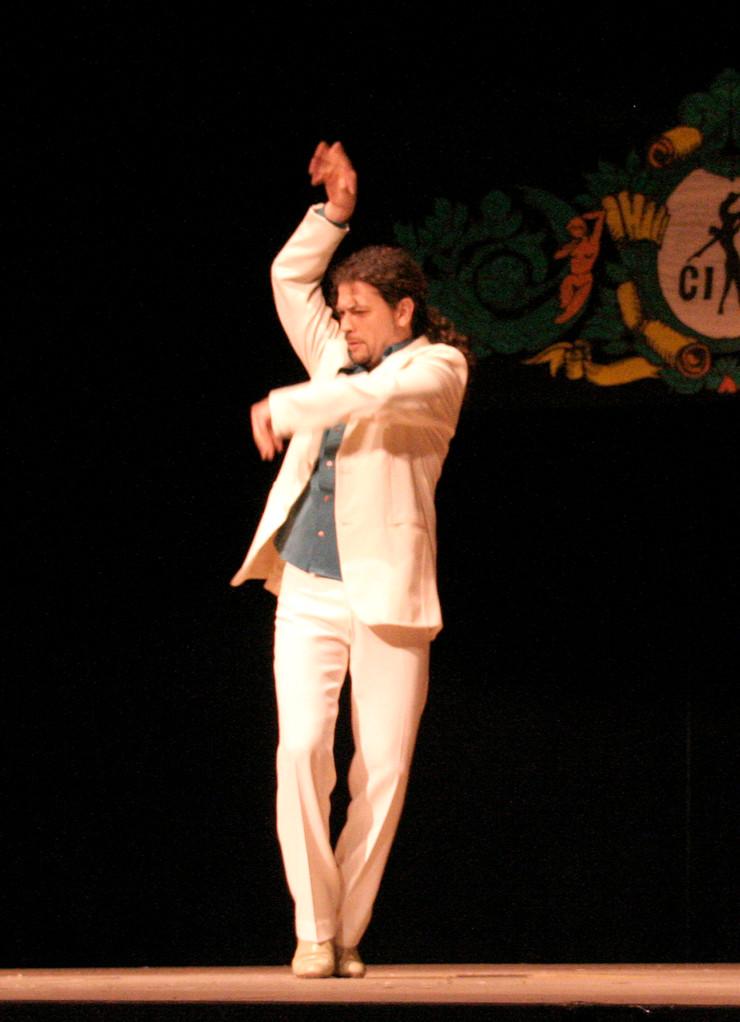 NESTOR SPADA baila en GALA EXPODANZA2009