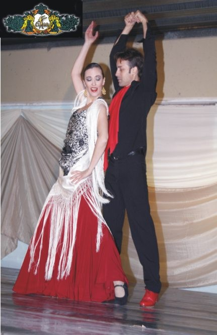 SIBILA y GABRIEL ARANGO en GALA 2010
