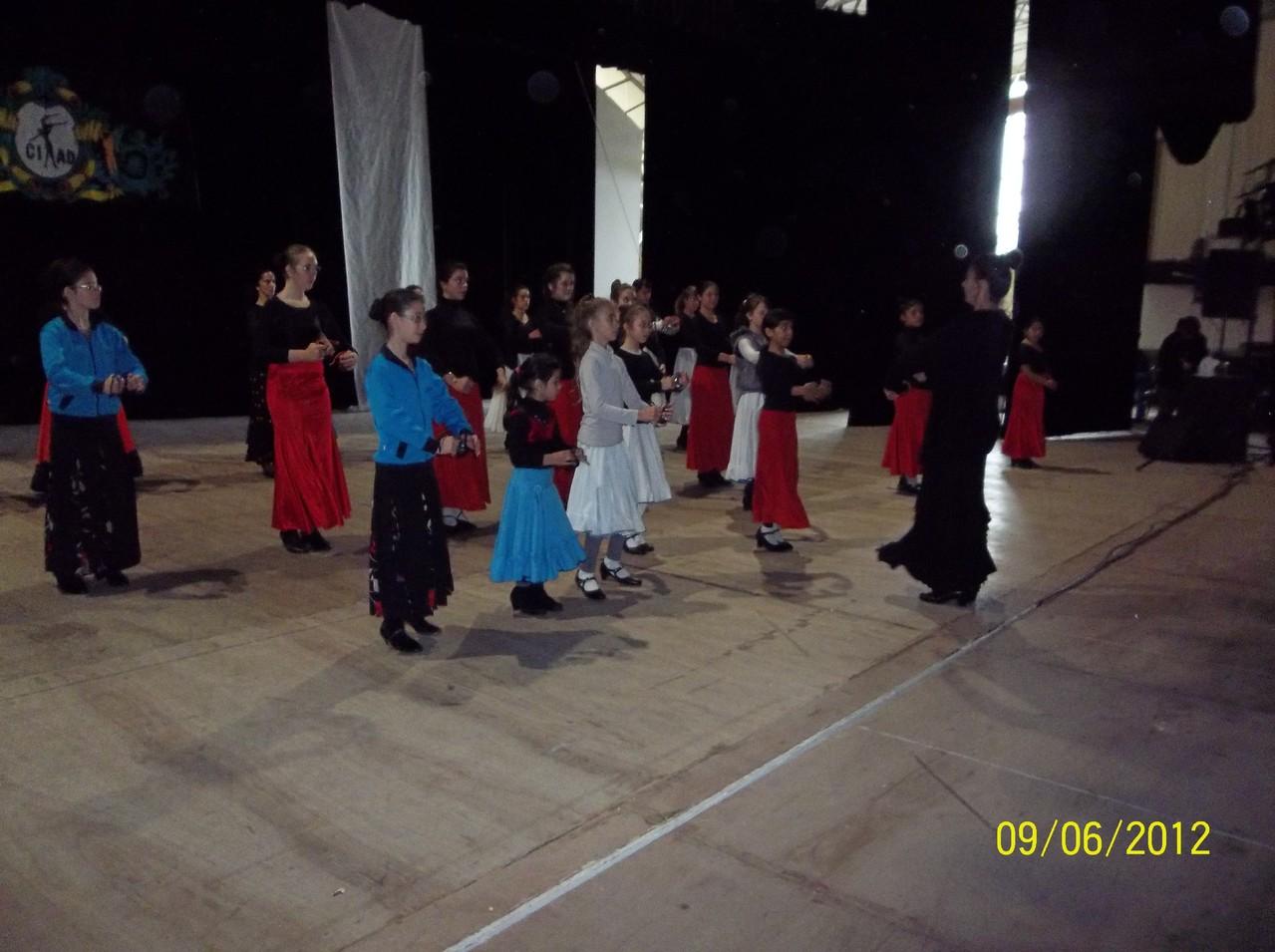 ALEJANDRA GARCIA, seminario flamenco en expodanza 2012