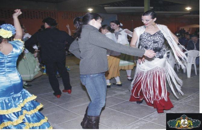 Sibila en el fin de fiesta Encuentro danza española 2010