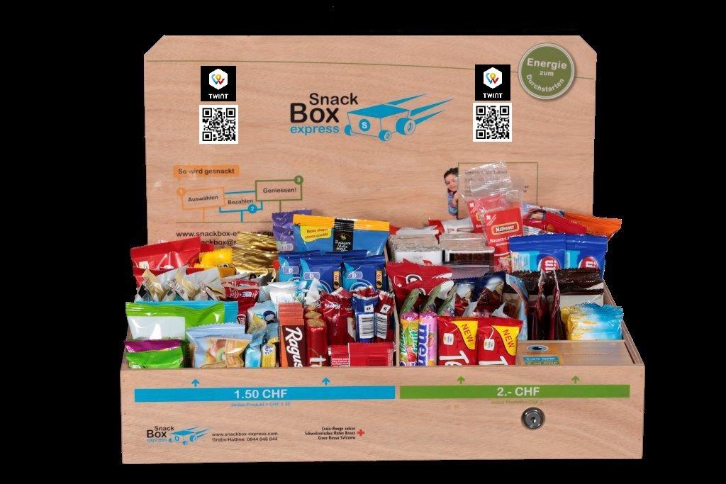 Die TWINT-Snackbox aus Holz