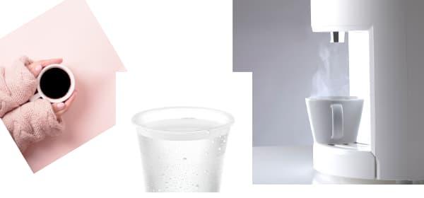 エブリィフレシャスミニの冷水温度 温水温度 コーヒー