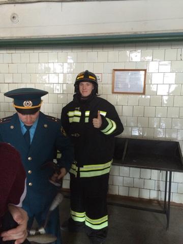 Практическая отработка навыков в пожарной части