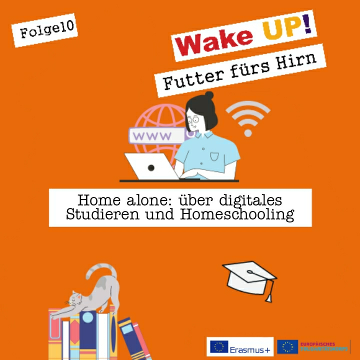 Folge 10 - Home alone: über digitales Studieren und Homeschooling