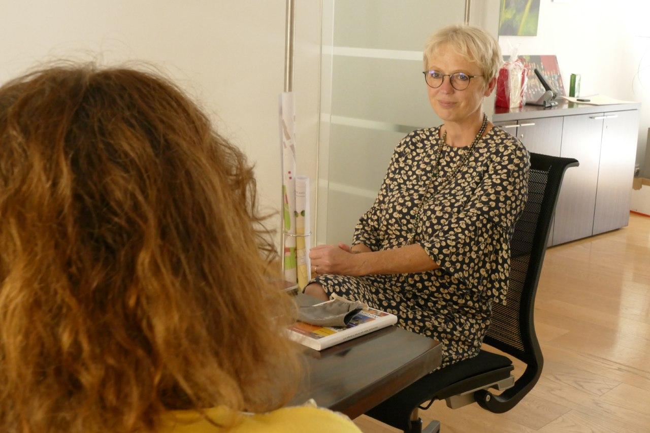 Gudrun Donaubauer war unser erster Podcast-Gast