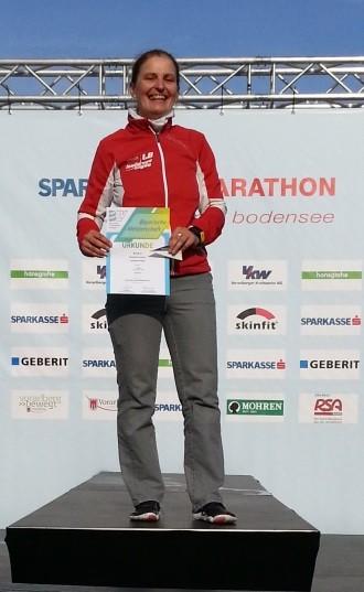 Bayerische Senioren-Marathonmeisterin 2014 - Elisabeth Angerer
