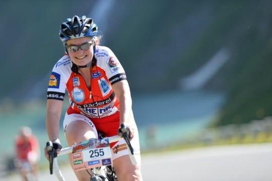 Elisabeth Angerer bewältigte den Mythos Großglockner gleich zweimal - auf dem Rad und per pedes!
