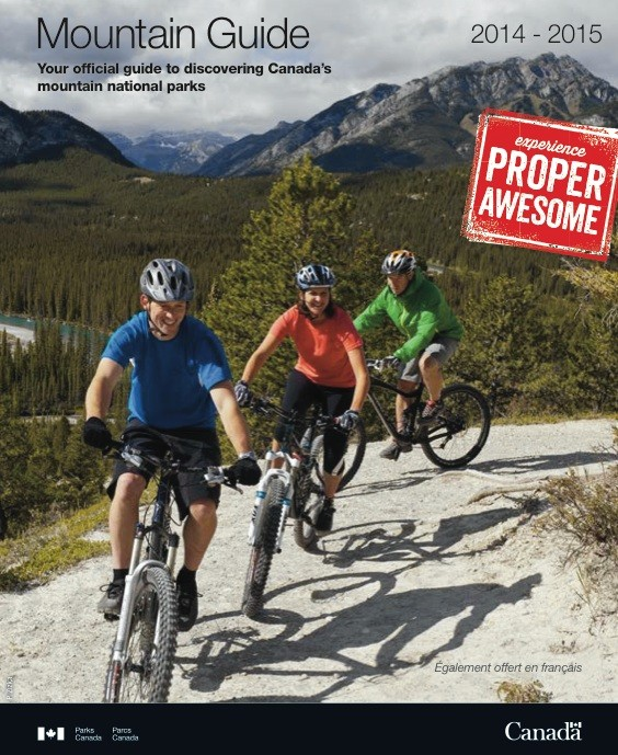 Canada Nationalpark Mountain Guide 2014-2015