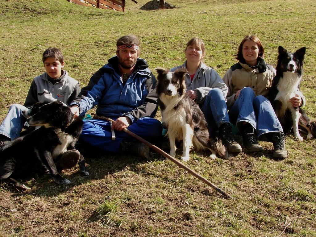 Hütekurs bei uns Oktober 2006