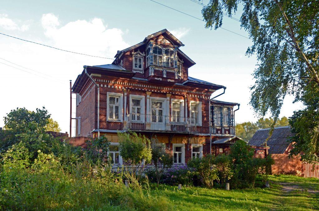 Дом семьи нотариуса Василия Маслок