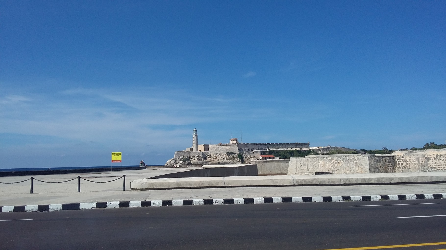 Castillo de los Tres Reyes Magos del Morro en La Habana.