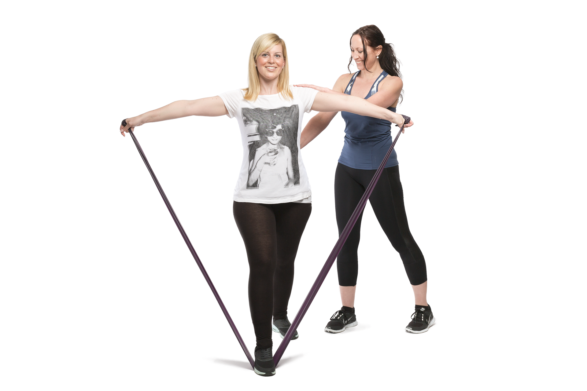 Personal Training mit Theraband