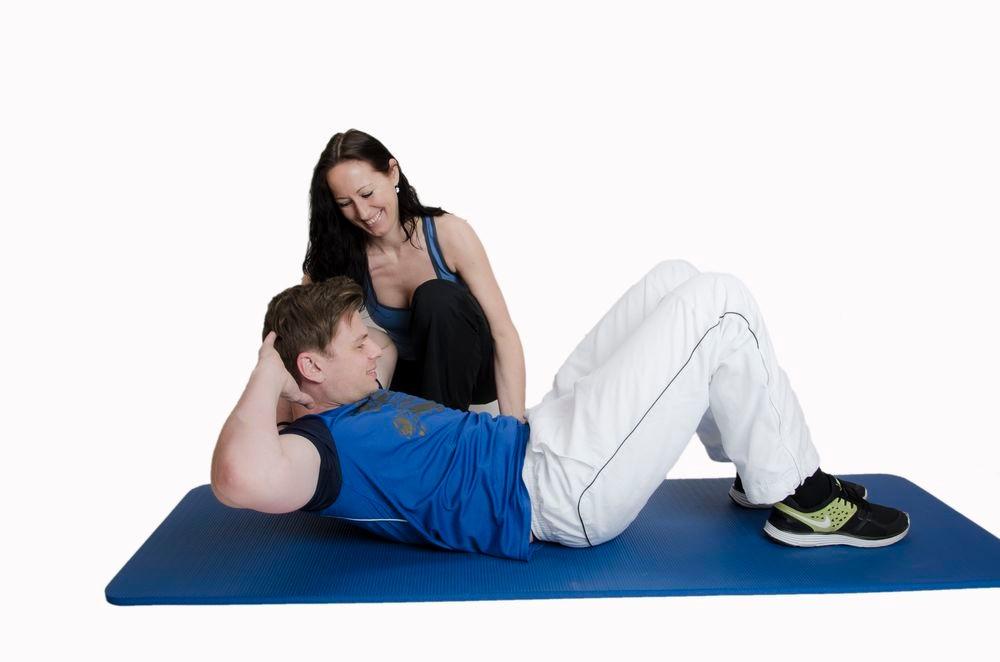 Training der Bauchmuskulatur
