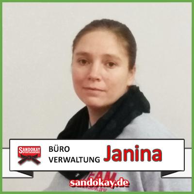 Mitarbeiterin Janina - Sandokay Kampfsportschule