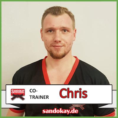 2020 Neuer Co- Trainer CHRIS - Team Sandokay Kampfpsortschule