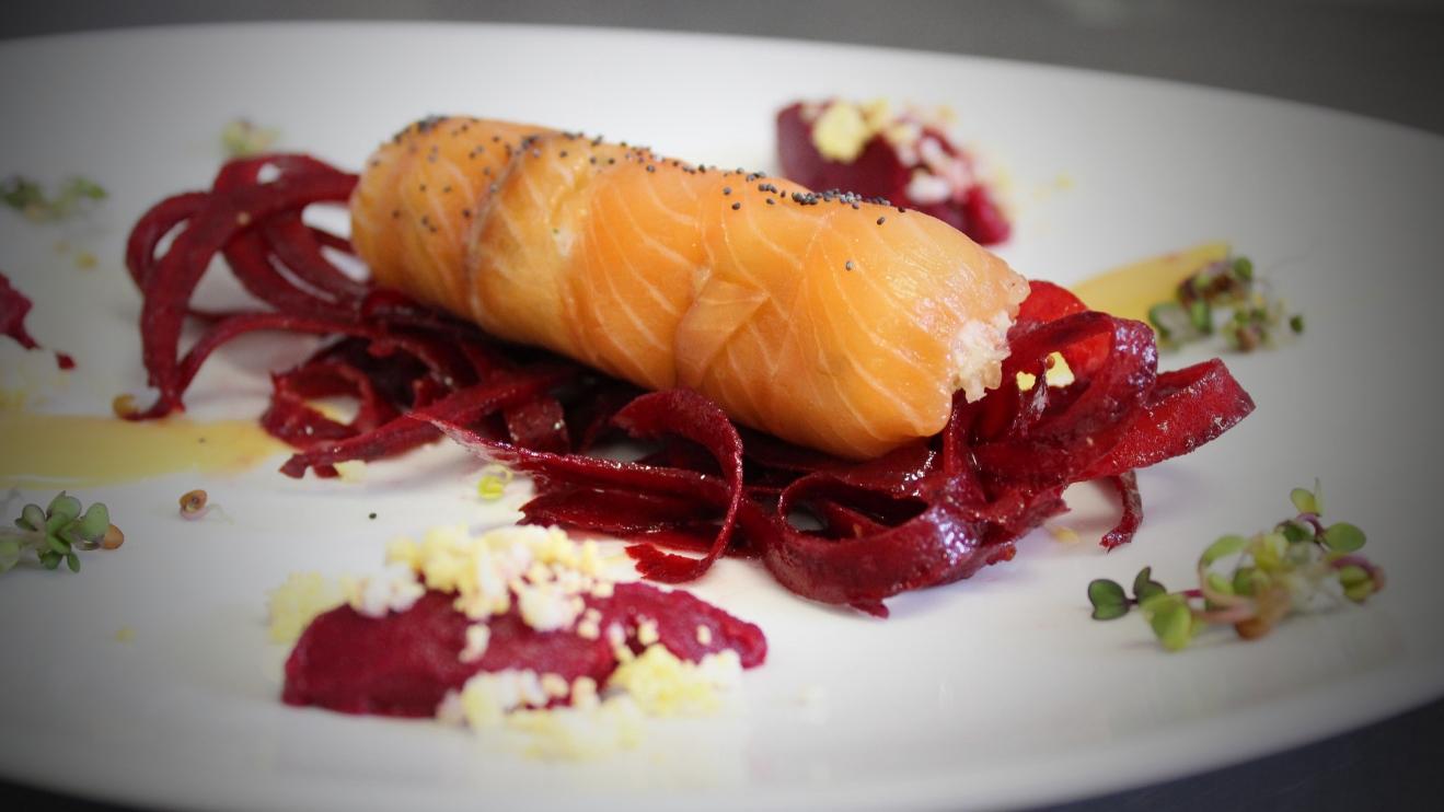 Restaurant L'Ecluse à Amboise - Roulé de saumon