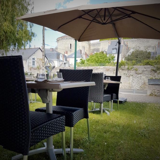Restaurant L'Ecluse à Amboise - La terrasse