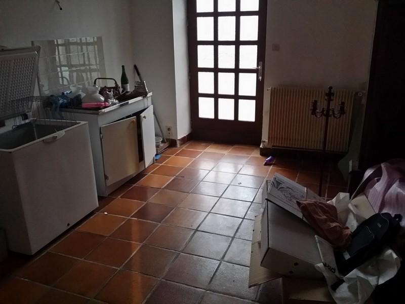 la cuisine avant le début des travaux