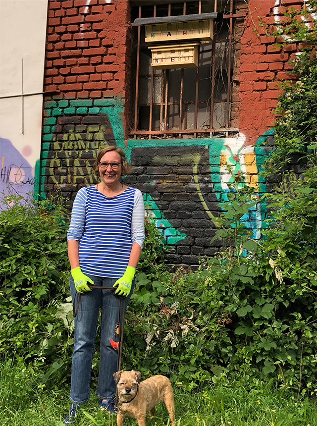 Dr. Ulrike Morys, die Initiatorin des Spatzenprojekts