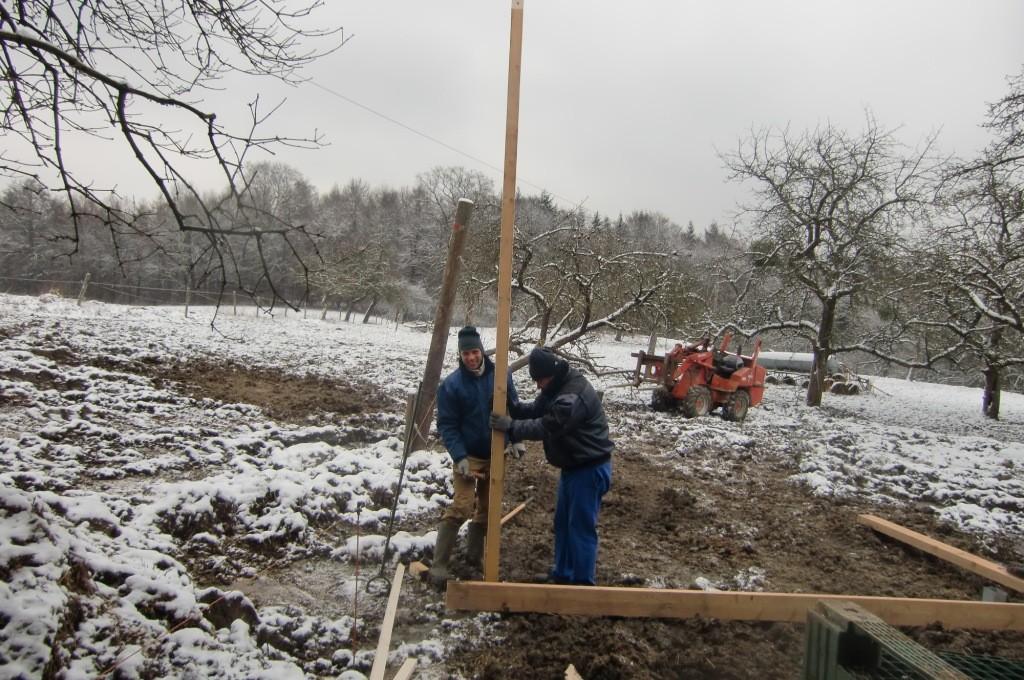 Dann werden die ersten Balken angepasst.