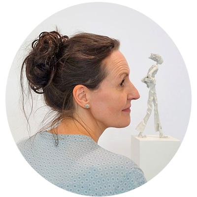 Portrait der Künstlerin Claudia König