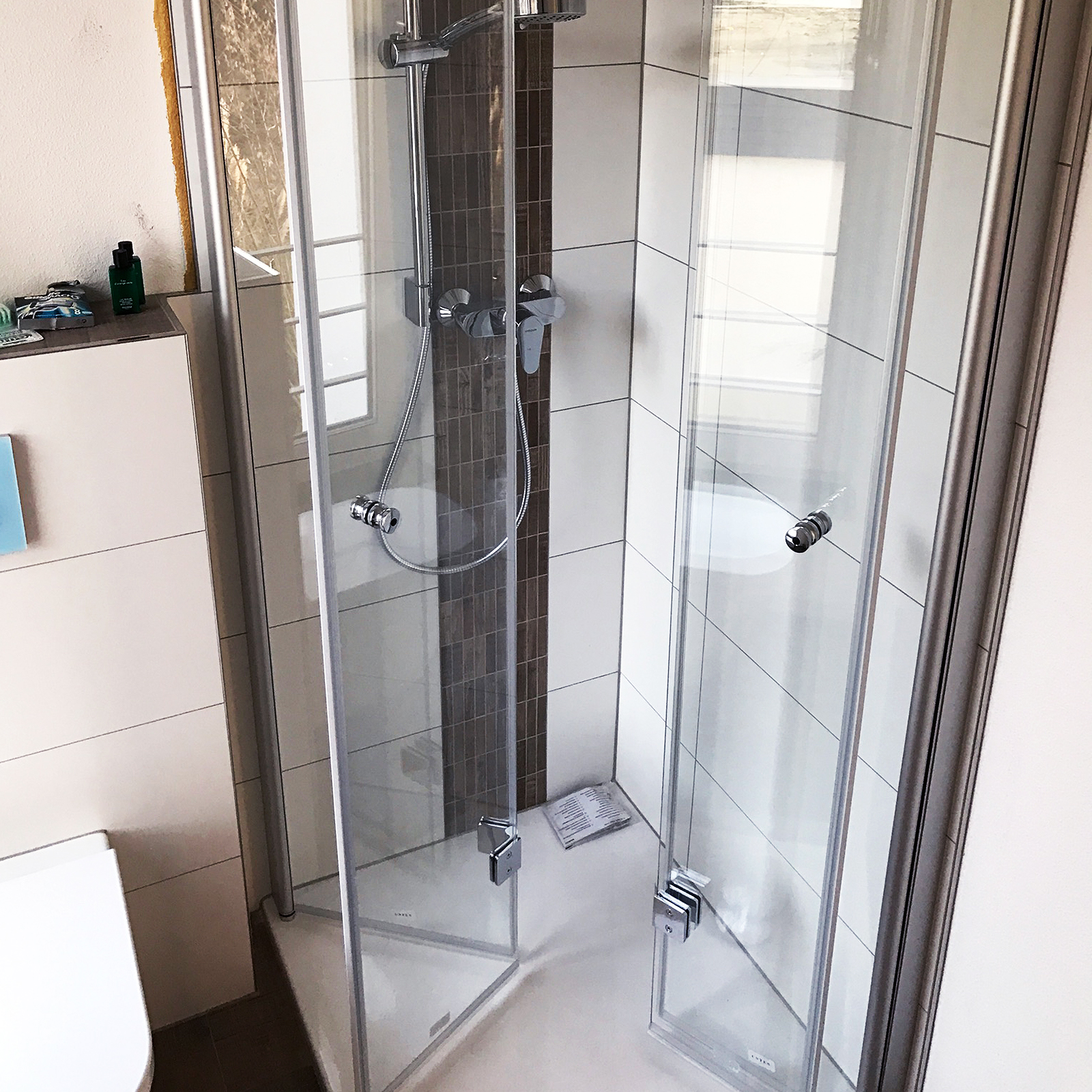 Dusche klappbar (vierteilig)