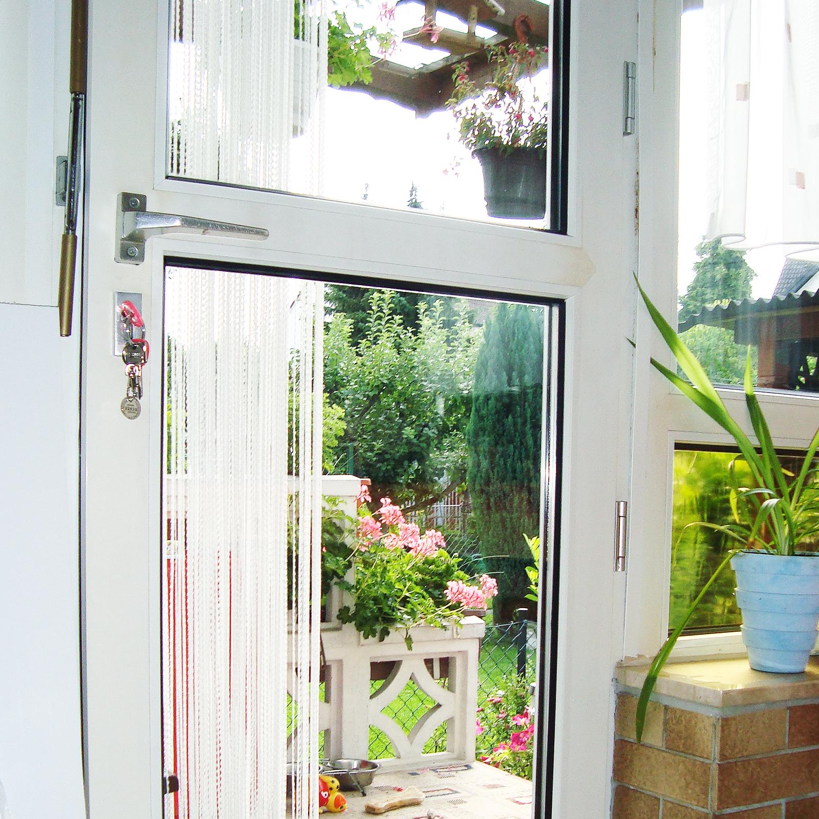 Isolierglasscheibe in Balkontür