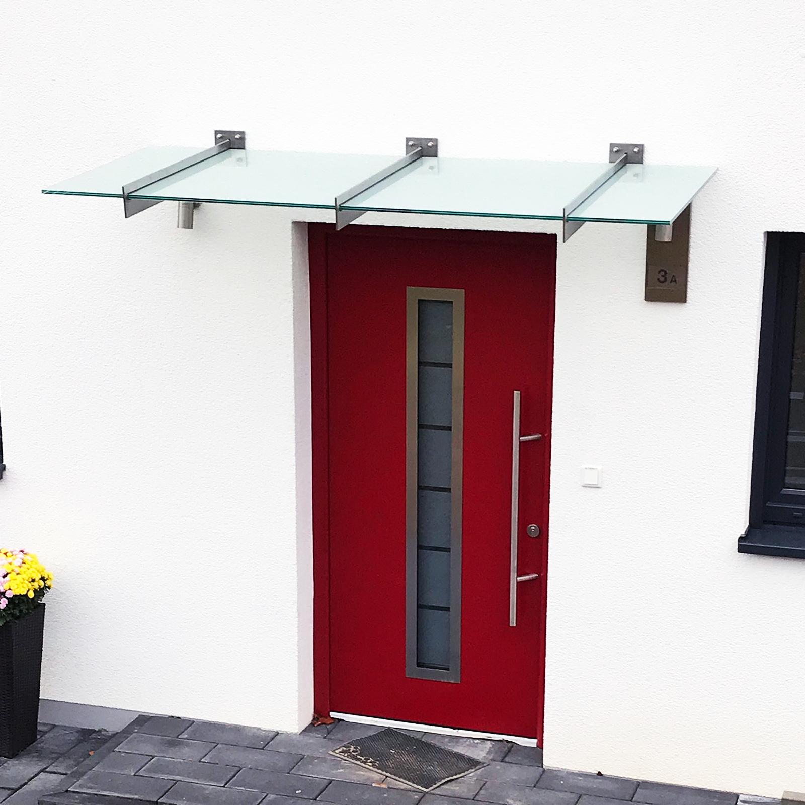 Vordach aus 2fach ESG