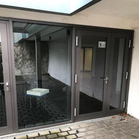 Isolierverglasung Tür