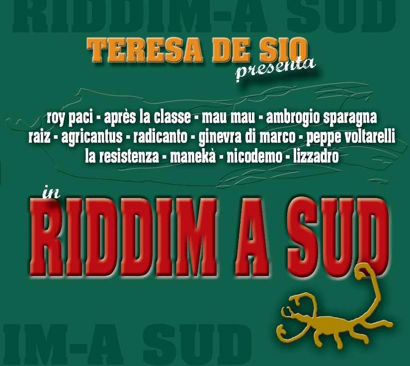 Copertina Riddim a Sud (CORE, 2008)